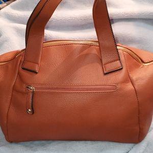 Large Black Rivet Hand/ shoulder bag